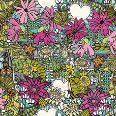 'Fantastical stellata' by Scrummy on Spoonflower