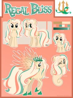 [Commission] Reference Sheet OC Regal Bliss by TheodoresFan on DeviantArt