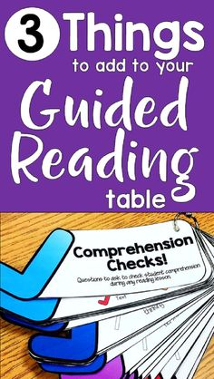 This article provides many useful guided reading activities and strategies to use during guided reading. These resources will help you make the most of your time at the guided reading table. Guided Reading Table, Guided Reading Activities, Guided Reading Lessons, Reading Comprehension Activities, 3rd Grade Reading, Reading Centers, Reading Workshop, Kindergarten Reading, Reading Skills