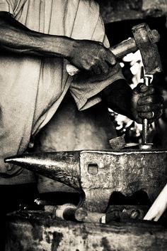 Morocco Blacksmith by EyebeamPhotography/Edward Strennen on Flickr