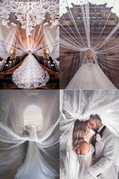18 Romantic Wedding Photo Ideas to Take with Your Bridal Veil! - Romantic Wedding Photo Ideas with Your Wedding Veil - Wedding Picture Poses, Romantic Wedding Photos, Cute Wedding Ideas, Wedding Photography Poses, Wedding Goals, Wedding Shoot, Wedding Pictures, Perfect Wedding, Wedding Engagement