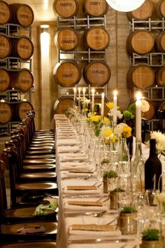 I would so do this for a rehearsal dinner; i love the way this looks