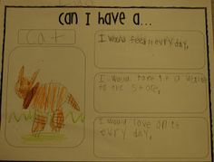 Can I have a... persuasive writing/Can I have a Dinosaur