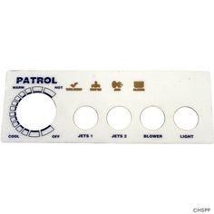 Overlay, Pres Air Trol Patrol, 4 Button,.