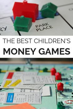 These money games for kids teach valuable lessons while still being fun. - Life and hacks Money Games For Kids, Building Games For Kids, Math Games For Kids, Fun Games, Board Games For Kids, Family Game Night, Financial Literacy, Adding And Subtracting, Learning Activities