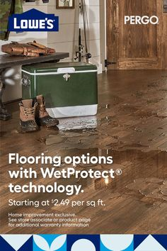 Basement Makeover, Diy Home Repair, Waterproof Flooring, Home Upgrades, Antique Decor, Home Repairs, Flooring Options, Diy Cabinets, House Colors