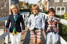 Celebrate summer in style with Ralph Lauren Boys