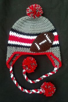 f0dd5670db964 Items similar to Ohio State Baby Hat Winter Hat OSU Toddler Child on Etsy