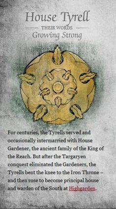 House Tyrell  #GameOfThrones    #ASoIaF