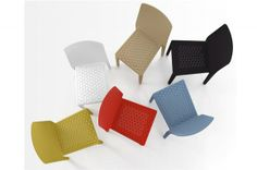 Calligaris chair by Marc Sadler - not totally sure about this, but stackable Interior S, Interior Design, Italian Furniture, Table And Chairs, Dining Tables, Contemporary, Modern, Floor Chair, Showroom