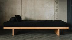 oak-kyoto-daybed-stark Daybed, Sofa Bed, Couch, Japanese Style Bedroom, Bed Company, Futon Covers, Bedding Collections, Kyoto, Bedrooms
