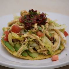 Ensalada de pollo An easy, fresh and quick recipe to prepare. Authentic Mexican Recipes, Mexican Food Recipes, Healthy Meal Prep, Healthy Eating, Breakfast Healthy, Dinner Healthy, Clean Eating, Easy Cooking, Cooking Recipes