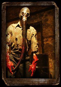 Find a haunted house attraction near you for a spooky Halloween visit . . .OoooOooo