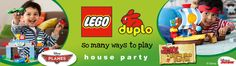 LEGO® DUPLO® So Many Ways to Play House Party