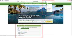 Trip Advisor personalizacja portalu - bezpośrednie zwroty po imieniu do użytkownika