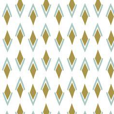 Hawthorne Threads - Zebra Hills - Woven Basket in Gold and Aspen