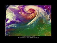 02/06/17 - Rapidly Intensifying N Atlantic Hurricane Force Low - YouTube