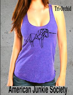 Be a Unicorn Origami Yoga Tank Top Tee Shirt'__Best friend Gift()Instagram Like~ Clothing ,Yoga clothes Women's Graphic tee by AmericanJunkieSoc on Etsy