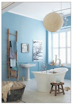 Upholstered galvanized bucket for seat in bathroom