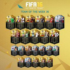 #FIFA 16 #TOTW 35 ft. Alexandre #Lacazette & LW Edinson #Cavani! http://www.ultimateteam.co.uk/2016/05/11/fifa-16-totw-35/