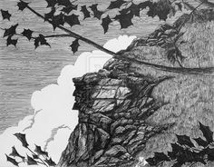 My tribute to the Old Man of the Mountain. Sentinel of Franconia Notch for thousands of years only to collapse and fall from the cliff on May 2003 b. Old Man of the Mountain, Franconia Notch, NH Franconia Notch, Old Men, Line Art, Old Things, Mountain, Deviantart, Line Drawings, Senior Guys, Line Illustration