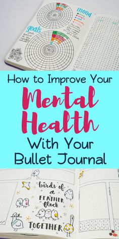 5 Ways Bullet Journals Improve Mental Health - Planning Mindfully Bullet journal- Learn how your bujo can help to improve your mental health. Learn the tools and trackers that helped me to resolve anxiety and depression. Bullet Journal Anxiety, Bullet Journal Mental Health, Bullet Journal Hacks, Bullet Journal How To Start A, Bullet Journal Tracker, Bullet Journal Spread, Bullet Journal Ideas Pages, Bullet Journal Layout, Bullet Journal Inspiration
