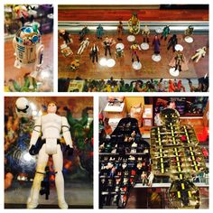 "A beautiful minty Star Wars collection just arrived at Crossroad! Lots of great figures to include some rare ""Last 17"" treasures!"