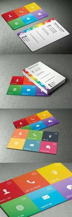 Metro UI Style business card