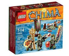 Lego Legends Of Chima: Crocodile Tribe Pack (70231)  Manufacturer: LEGO Enarxis Code: 014817 #toys #Lego #Chima