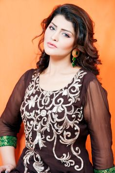 beautiful women in beautiful dresses | Lingofil Beautiful Eid & Party Wear Pakistani Dress 2013 For Women 12