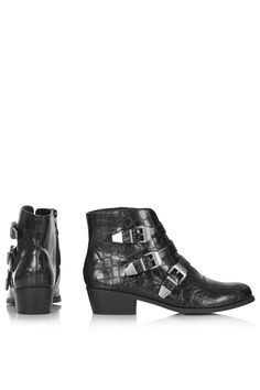 Photo 4 of BILLY Croc Buckle Boots
