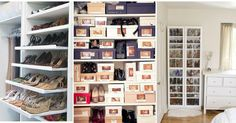 10 ideas para organizar tus zapatos, ¡toma nota!