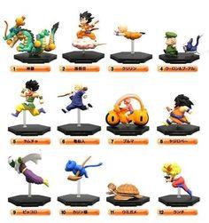 Set of 12 Dragon Ball Z Comics Back Spine Mini Figure Vol.01 JAPAN ANIME MANGA