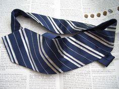 DIY Ravenclaw tie