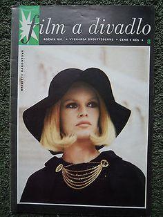 Brigitte Bardot - slovak very rare magazine 1969