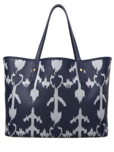 Put some pep in your step with an ikat print bag that's cool enough to take you from a study sesh to a night out on the town in a cinch! Ikat Coated Canvas Tote, $78, cwonder.com.