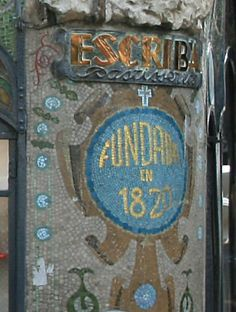 Mosaik an der Antigua Casa Figueras, Barcelona  www.claudoscope.eu