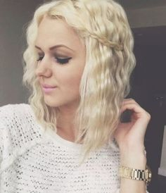 Amazing Crimped Hairstyle on Short and Long Hair | Trendy Hairstyles 2015 / 2016 for long, medium and short hair