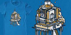 """Ultrabyte"" t-shirt design by rasefour"