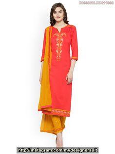 ef0d191e6f86 Kvsfab Women's Cotton Unstitched Dress Material. See more. #ashonika Call  or whatsapp +91-9001159939 to order/buy this, Ashonika