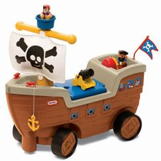 Play 'n Scoot™ Pirate Ship from #littletikes