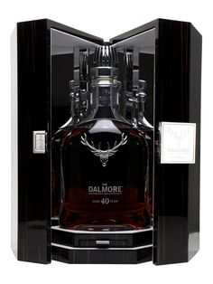 Dalmore 40 Year Old - Scotch Whisky : The Whisky Exchange Old Wine Bottles, Recycled Wine Bottles, Alcohol Bottles, Liquor Bottles, Cigars And Whiskey, Whiskey Drinks, Scotch Whiskey, Whiskey Girl, Irish Whiskey