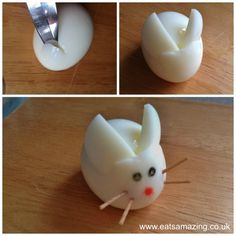 {Tutorial} Boiled Egg Bunny Rabbit