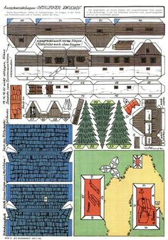 English Wonderful World of Eastern Alpine House <><> German wunderwelt ostalpiner zwiehof alpes maison