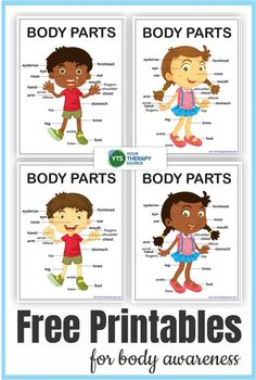 6 Body Awareness Activities and Printables - Free! - Your Therapy Source Motor Skills Activities, Gross Motor Skills, Motor Planning, Pediatric Occupational Therapy, Pediatrics, Free Printables, Learning, Kids, Posts