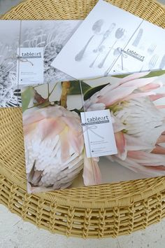 Klooftique Paper place mats from Paper Art