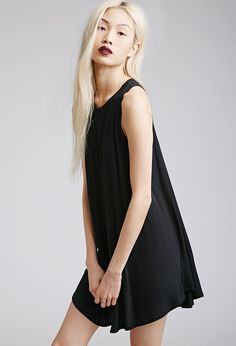 Jersey Trapeze Dress | FOREVER21 - 2000076720