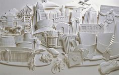Paper Sculptures from Jeff Nishinaka
