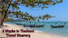 Our two weeks traveling in Thailand itinerary, including 3 days in Bangkok, 2 days in Kanchanaburi, 4 days in Krabi and Phuket and 4 days in Chiang Mai.