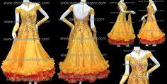 Modern dance dress model no. 1898